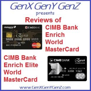 CIMB Bank Enrich World MasterCard Elite Review