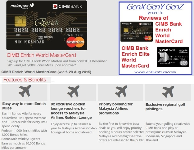 CIMB Enrich World MasterCard Review