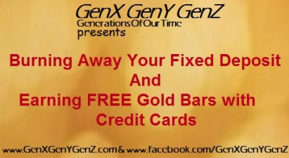 Free Gold Bars with Credit Cards
