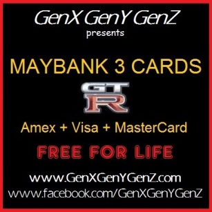GenX Maybank 3 Cards Maybank Islamic Ikwan MasterCard
