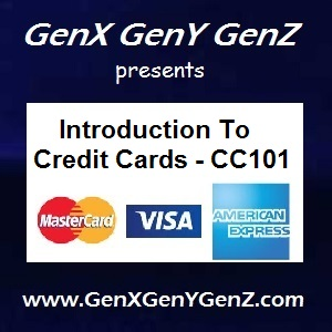 Introduction to Credit Cards Tutorial CC101