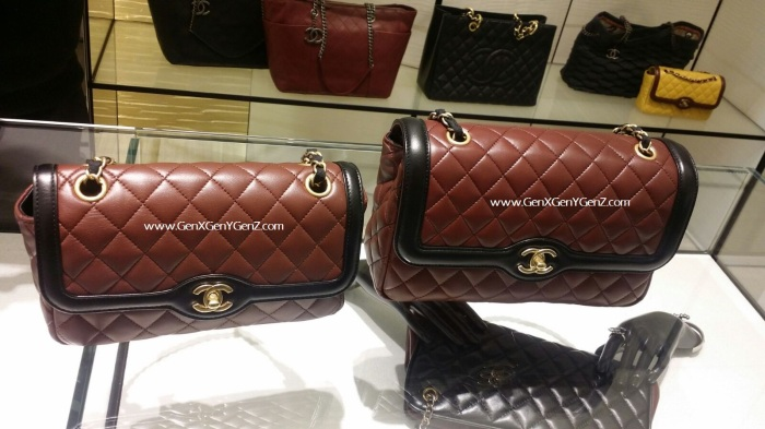 Chanel Limited Edition mid and large handbag