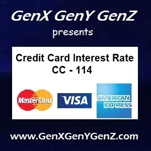 Credit Cards Interest Rate