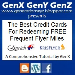 Enrich KrisFlyer Miles Best Credit Card Redemption