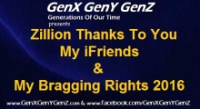 GenX Bragging Rights 2016 and Zillion Thanks