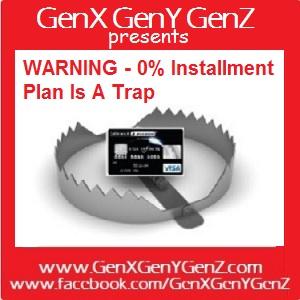 Installment Plan Is A Trap