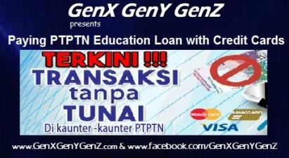 PTPTN Education Loans with Credit Cards