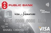 Public Bank Vis Signature