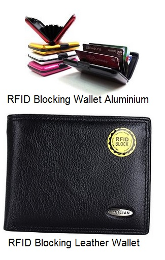 RFID Blocking Wallet