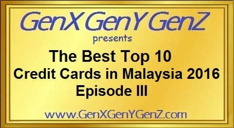 NEW 2016 Top 10 Credit Cards - Episode III @ www.GenXGenYGenZ.com