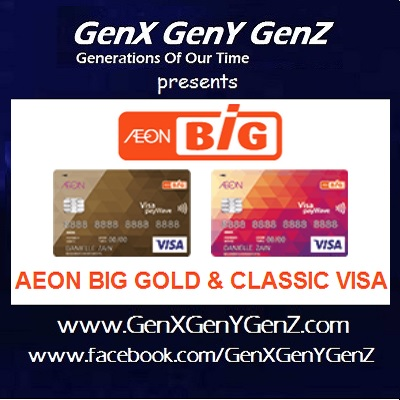 AEON Big Gold Classic Visa Cash Back Credit Card