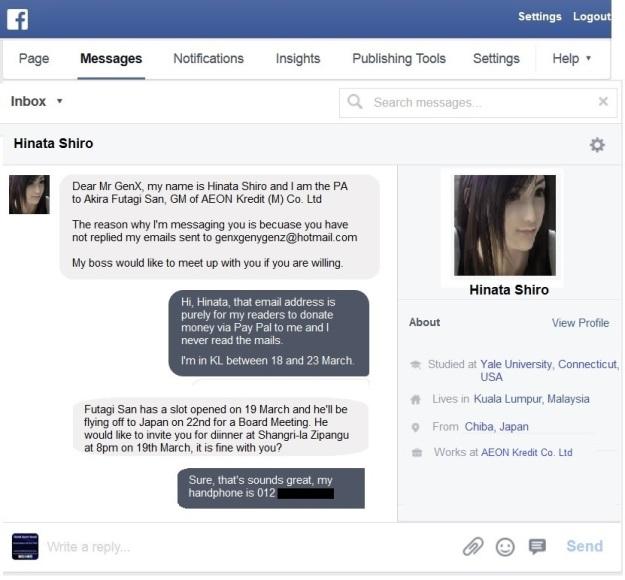 Facebook Hinata Shiro