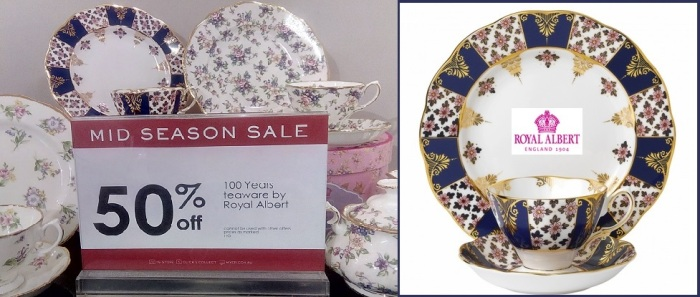 Royal Albert 100 Years Teaware Teacup Saucer Plate 1900