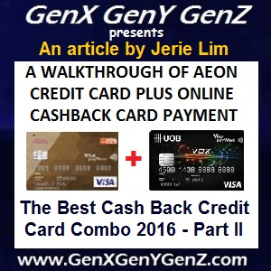 The Best Cash Back Credit Card Combo by Jerie Lim 2