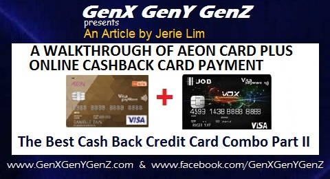 The Best Cash Back Credit Card Combo by Jerie Lim