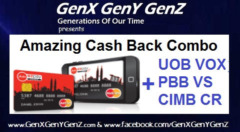 Amazing Cash Back Combo