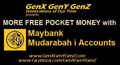 GenX Maybank Mudarabah i Account
