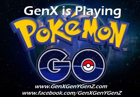 GenX GenY GenZ Pokemon Go Intro