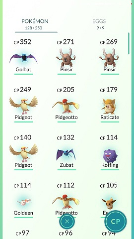 Pokemon 128 collected on first day
