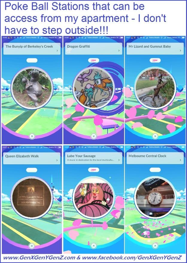 Pokemon Go Poke Ball Station Melbourne Central