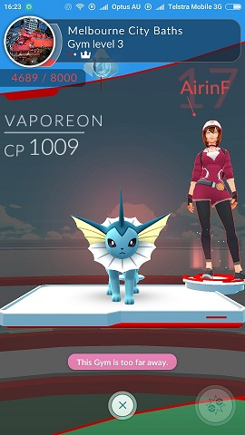 Pokemon Gym in Melbourne