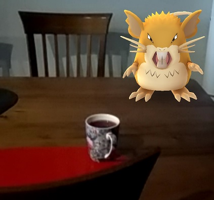 Pokemon on Dining Table 2