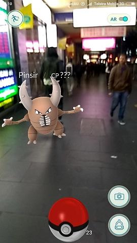 Pokemon Swanston Street Melbourne