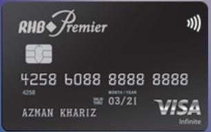 RHB Premier Visa Infinite Best OVerseas Credit Card