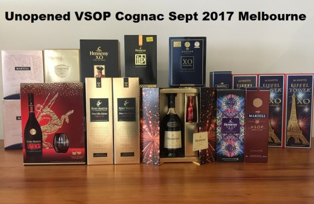 GenX Spirits Cognac VSOP Collection Melbourne 2018