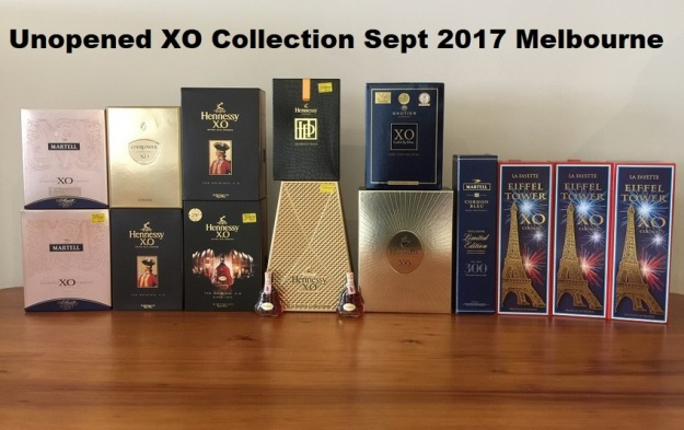 GenX Spirits Cognac XO Collection Melbourne 2018