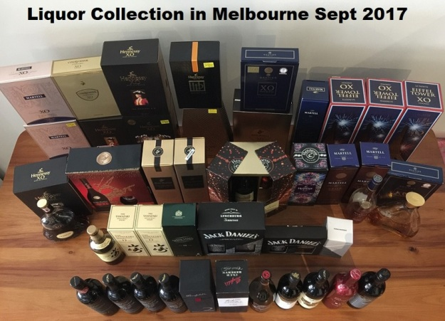 GenX Spirits Collection Melbourne 2018