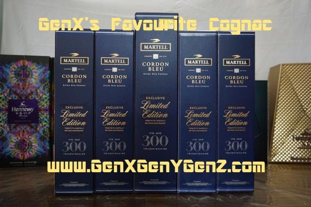 GenX Spirits Favourite Cognac Martell 300 Tricentenaire Limited Edition