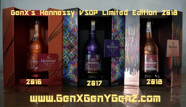 GenX Spirits Hennessy VSOP Limited Edition Collection 2018 Unboxed