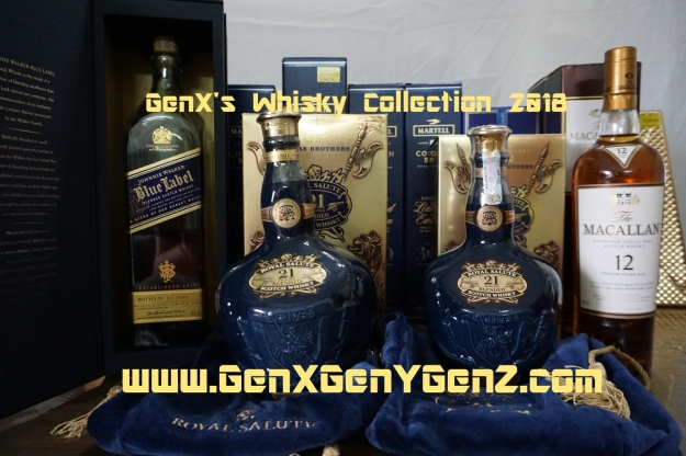 GenX Spirits Whisky Collection 2018 Unboxed