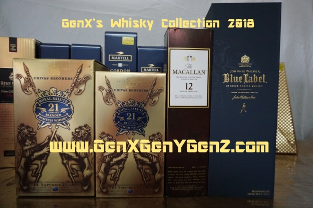 GenX Spirits Whisky Collection 2018