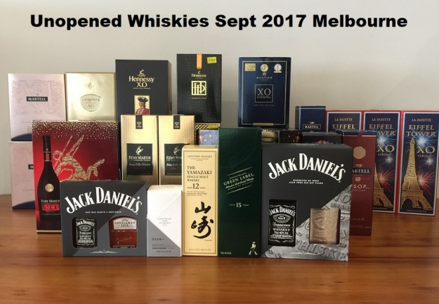 GenX Spirits Whisky Collection Melbourne 2018