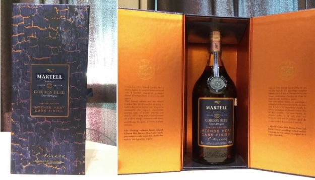 Martell Cordon Bleu Intense Heat Limited Edition 2017