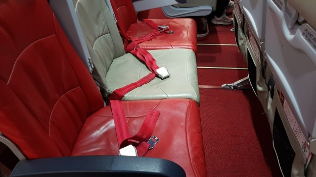 AirAsia Economy Class Flat Bed middle