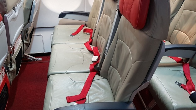 AirAsia Economy Class Flat Bed