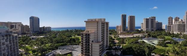 Ambassador Hotel Waikiki Family suite Panaroma View