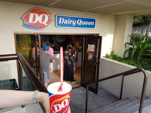 Dairy Queen Strawberry Banana Blizzard at Hilton Hawaiian Village