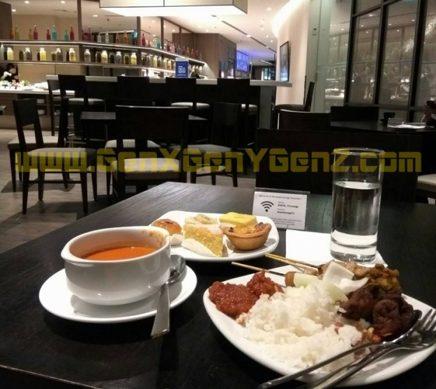Dnata Changi Airport Lounge T1 5