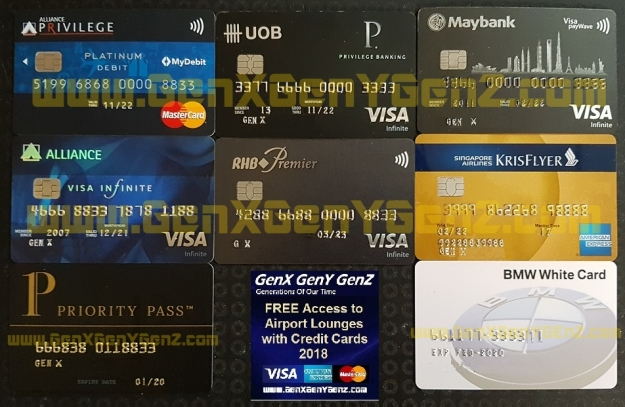 GenX Airport Lounge Cards Worldwide