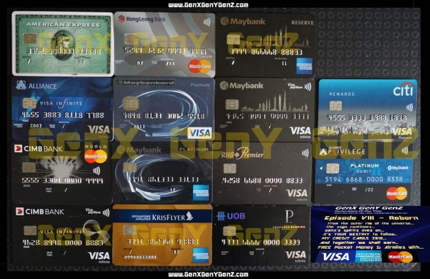 GenX My Credit Cards 2018