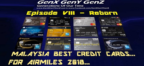 Malaysia Best Credit Cards for Airmiles