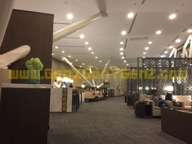MAS Golden Lounge Main Terminal KLIA