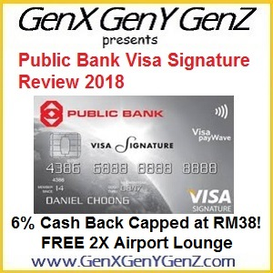 Public Bank Visa Signature Review 2018 Best Airport Lounge
