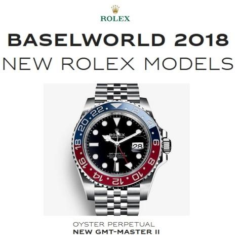 Baselworld 2018 New Rolex Pepsi