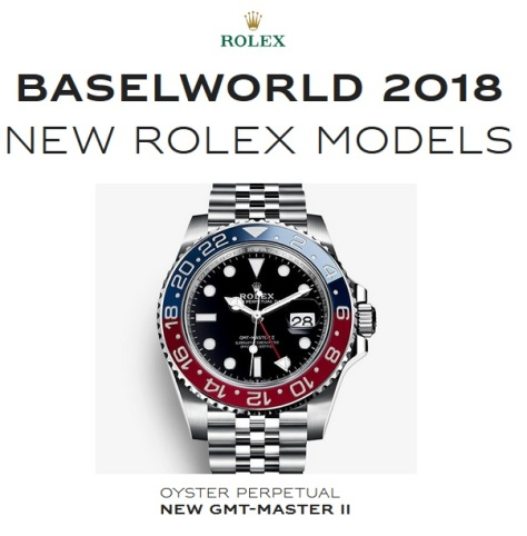 Baselworld 2018 New Rolex Pepsi