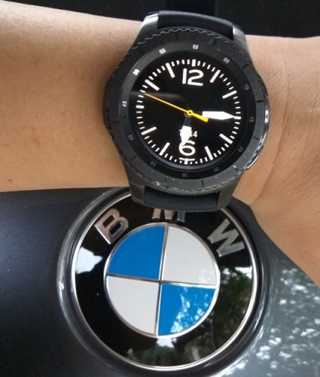 BMW Samsung Smartwatch S3